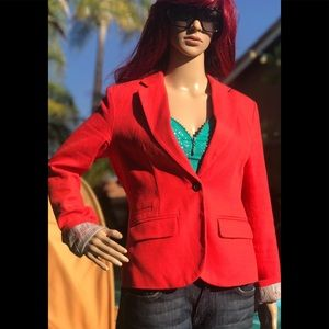 Beautiful reddish orange Blazer